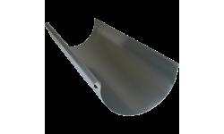Gouttière demi-ronde zinc naturel développé 250