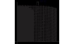 TREILLIS EN FIBRE DE VERRE, MAILLE 10 X 10 MM