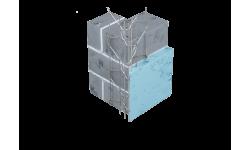 Profilé d'angle fils soudés sans jonc PVC