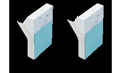 Profilé d'angle perforé cintrable en PVC